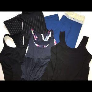 5 Lululemon Size 12 Pants Tops Workout Clothes